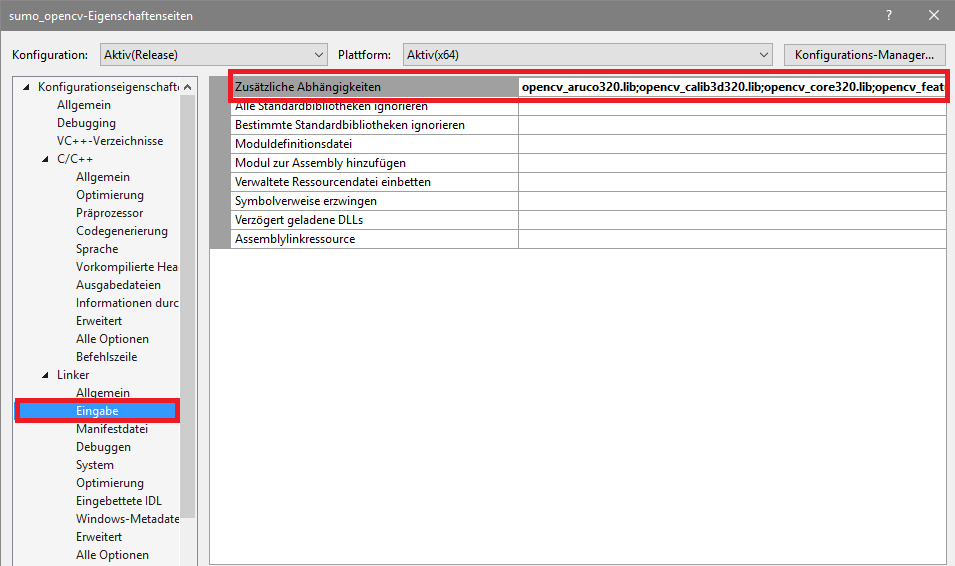 1  Setup — ACon Sumo openCV 1 0 0 documentation